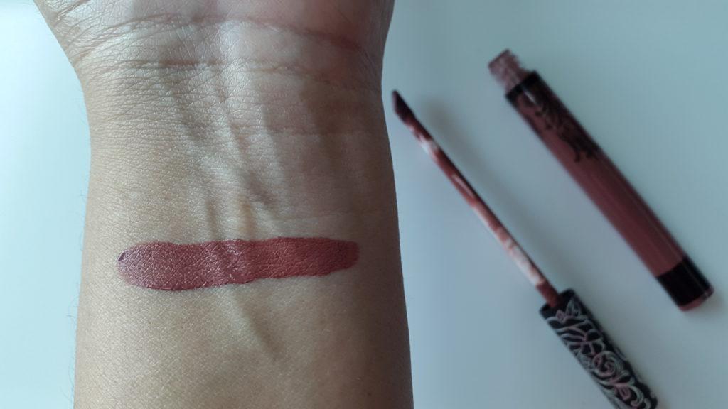 Kat Von D Everlasting Liquid Lipstick - Lolita swatch