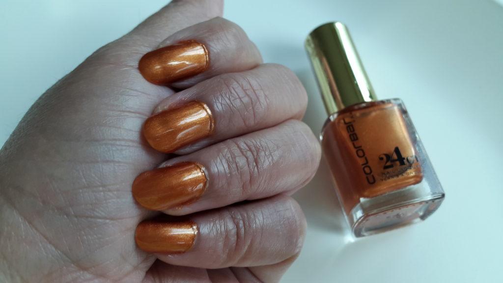 Colorbar 24 Carat Gold Nail Lacquer - 009 Brick Gold