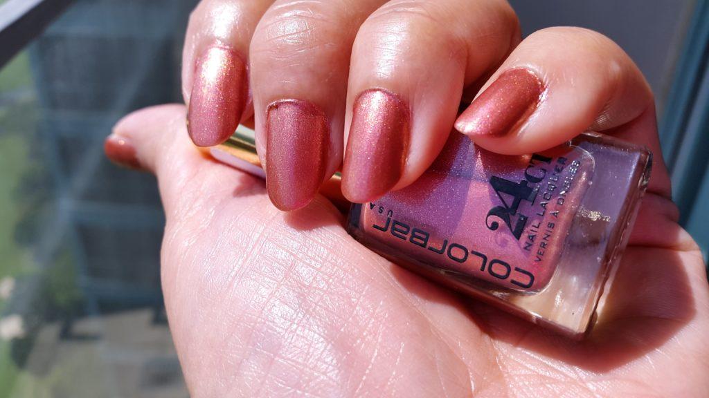 Colorbar 24 Carat Nail Lacquers - 004 Pinken Gold