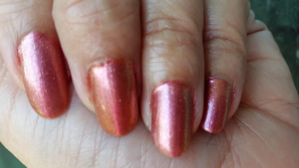 Colorbar 24 Carat Nail Lacquer - 004 Pinken Gold