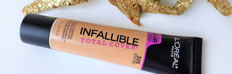 L'Oreal Infallible Total Cover Foundation – Review
