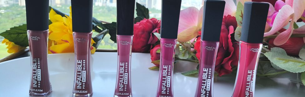 L'Oreal Infallible Pro Matte Gloss – Review