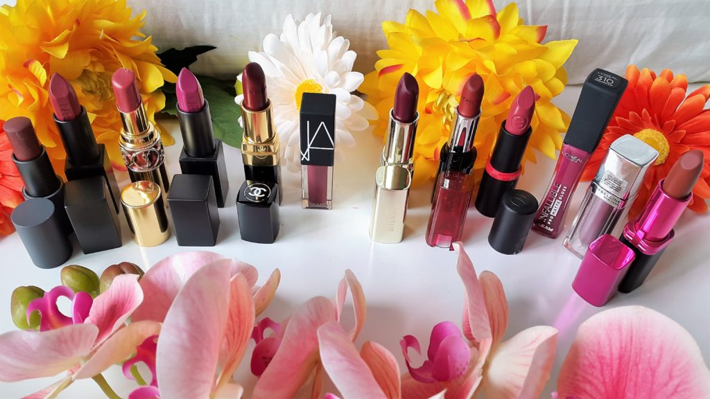 Favorite 12 Fall 2017 Lipsticks