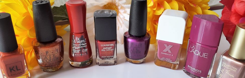 My Favorite Nail Polishes for Fall 2017