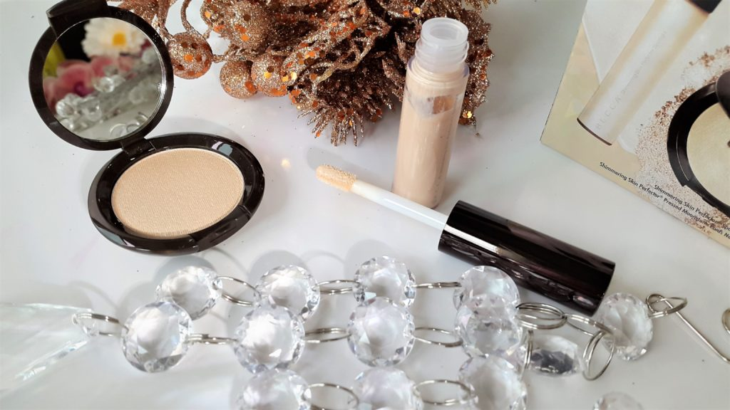 Becca Glow On The Go Shimmering Skin Perfector Set- Moonstone