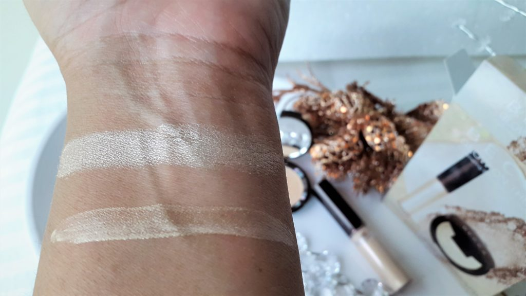 Becca Glow On The Go Shimmering Skin Perfector Set - Moonstone Swatches