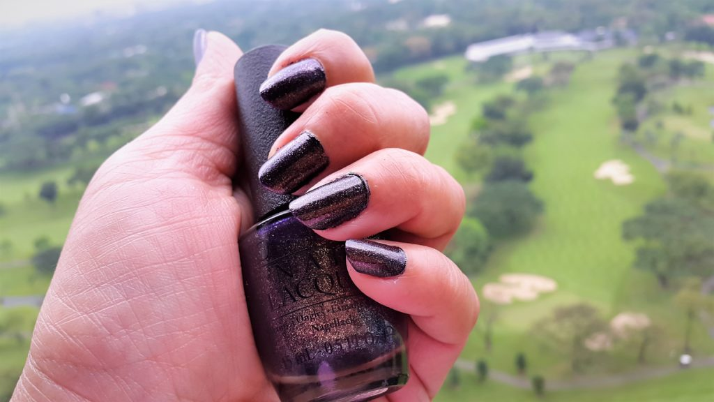 Winter 2017 Favorite Nail Polish OPI First Class Desires