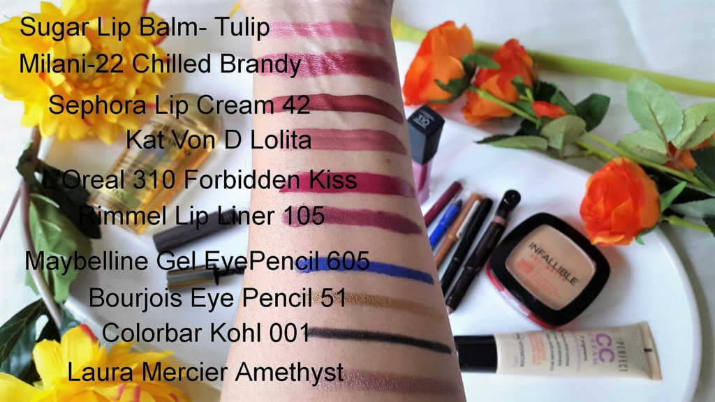 Monthly Favorites - January 2018 - Swatches