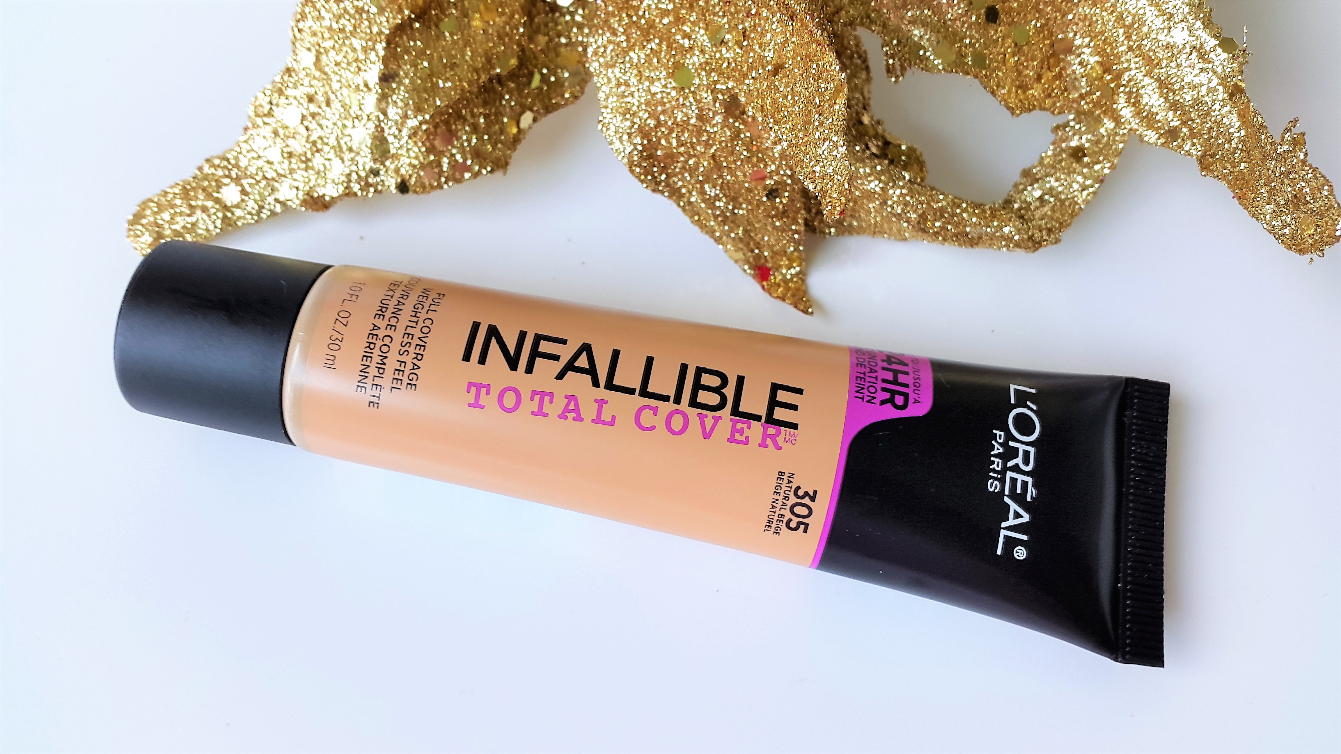 LOreal Infallible Total Cover Foundation Review | Loreal