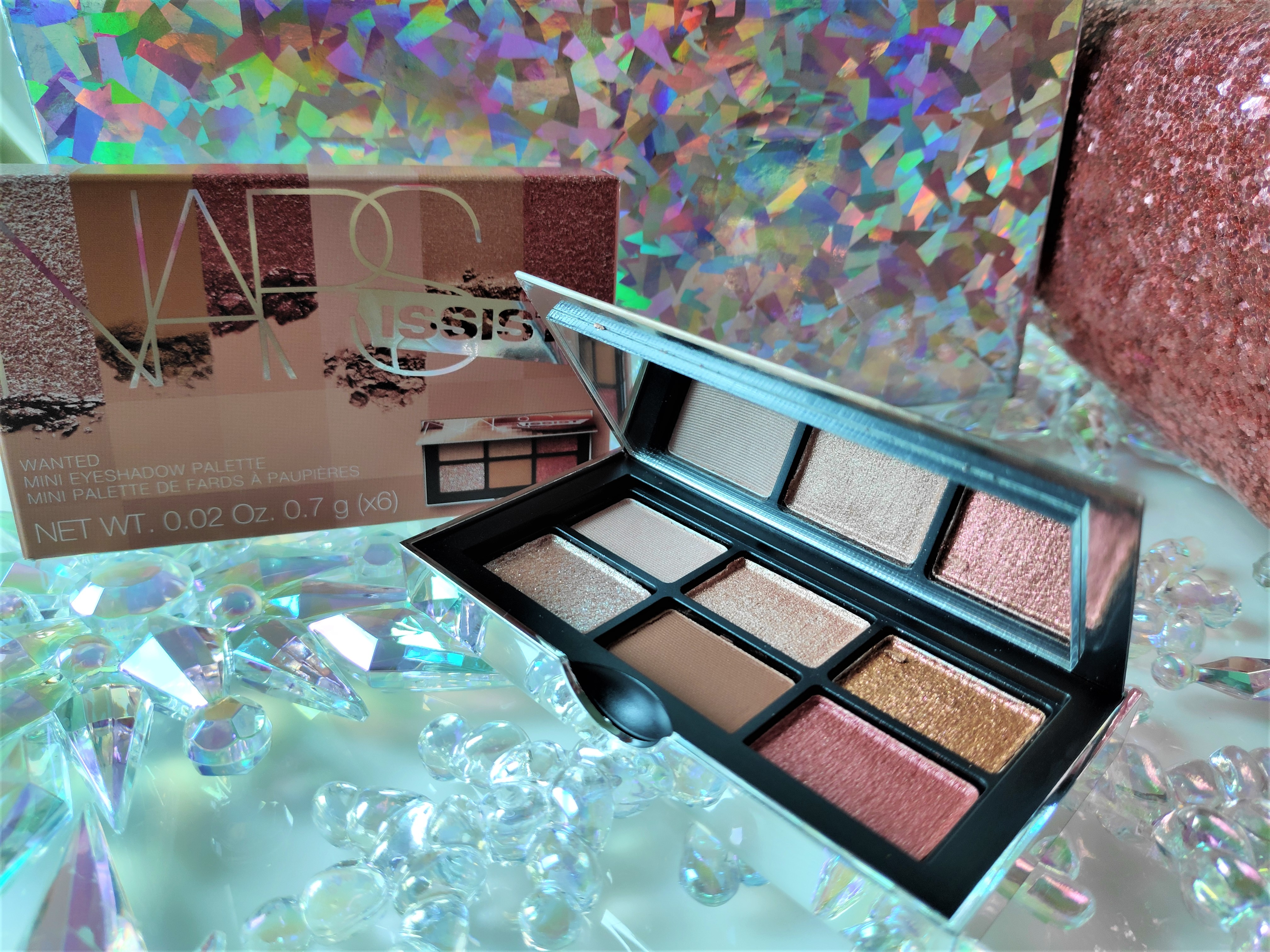 Nars Wanted Mini Eyeshadow Palette Review Glossnglitters